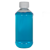 8 oz. Modern Round Clear PET Bottle with 24/400 CRC Cap