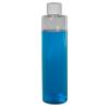 6 oz. Clear Slim PET Cylinder Bottle with 24/410 Plain Cap