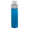 6 oz. Clear Slim PET Cylinder Bottle with 24/410 CRC Cap