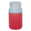 125mL HDPE Wide Mouth Bottle with 38/415 Polypropylene Cap