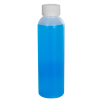 4 oz. HDPE Natural Cosmo Bottle with CRC 20/410 Cap