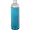16 oz. Cosmo High Clarity Round Bottle with Plain 24/410 Cap with F217 Liner