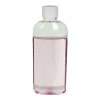 1 oz. Clear PET Cosmo High Clarity Oval Bottle with Plain 15/415 Cap