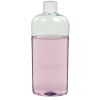 15.2 oz. Clear PET Vale High Clarity Oval Bottle with Plain 28/410 Cap