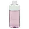 15.2 oz. Clear PET Vale High Clarity Oval Bottle with CRC 28/410 Cap