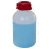 250mL HDPE Sealable Wide Neck Bottle with Cap