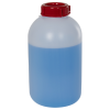 2000mL HDPE Sealable Wide Neck Bottle with Cap