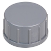 "3/4"" Gray PVC Captive Cap"