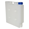 "15 Liter Natural Polypropylene Compact Jerrican with Tamper Evident Cap & 3/4"" Threaded Connector"