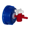 Blue Venting Valve-In Screw Cap