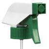 "28/400 White/Green Trigger Sprayer with 9-1/4"" Dip Tube"