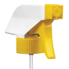 "28/400 White/Yellow Trigger Sprayer with 9-1/4"" Dip Tube"