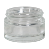 15mL Clear Round Glass Jar with 43/400 Neck (Caps Sold Separately)