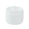4 oz. White Double Wall Dome Jar with 70/400 Neck (Cap Sold Separately)
