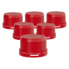 Replacement Tamper Evident Caps for VITgrip™ Bottles - Pack of 6