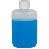 2 oz. Natural HDPE Oval Bottle with 20/410 Plain Cap with F217 Liner