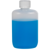 2 oz. Natural HDPE Oval Bottle with 20/410 CRC Cap