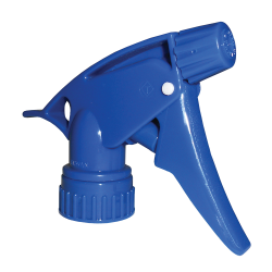 "28/400 Blue Spray Head with 7-1/4"" Dip Tube (Bottle Sold Separately)"