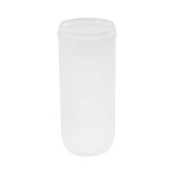 31 oz. White Snap Top Towel Wipe Canister with 83mm Neck (Cap Sold Separately)