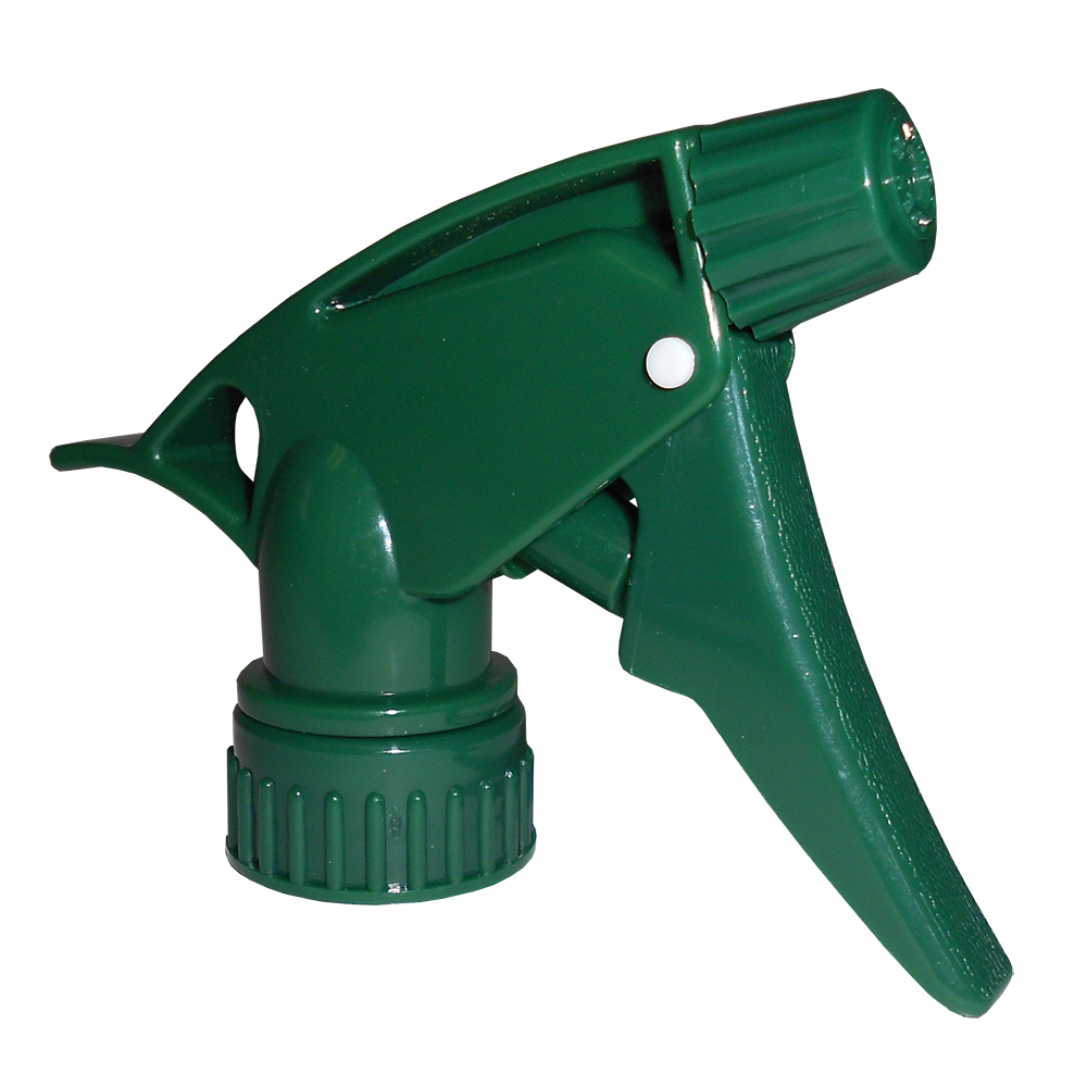 "28/400 Hunter Green Spray Head with 7-1/4"" Dip Tube (Bottle Sold Separately)"