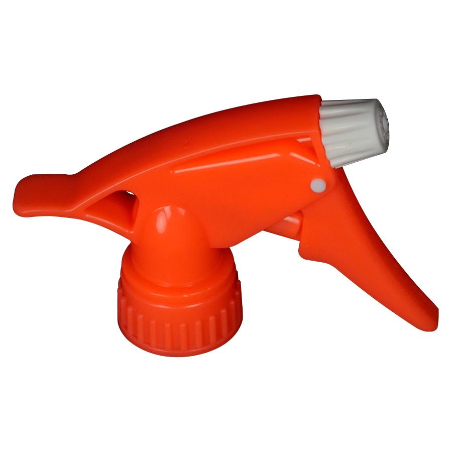 "28/400 Neon Orange Spray Head with 7-1/4"" Dip Tube (Bottle Sold Separately)"