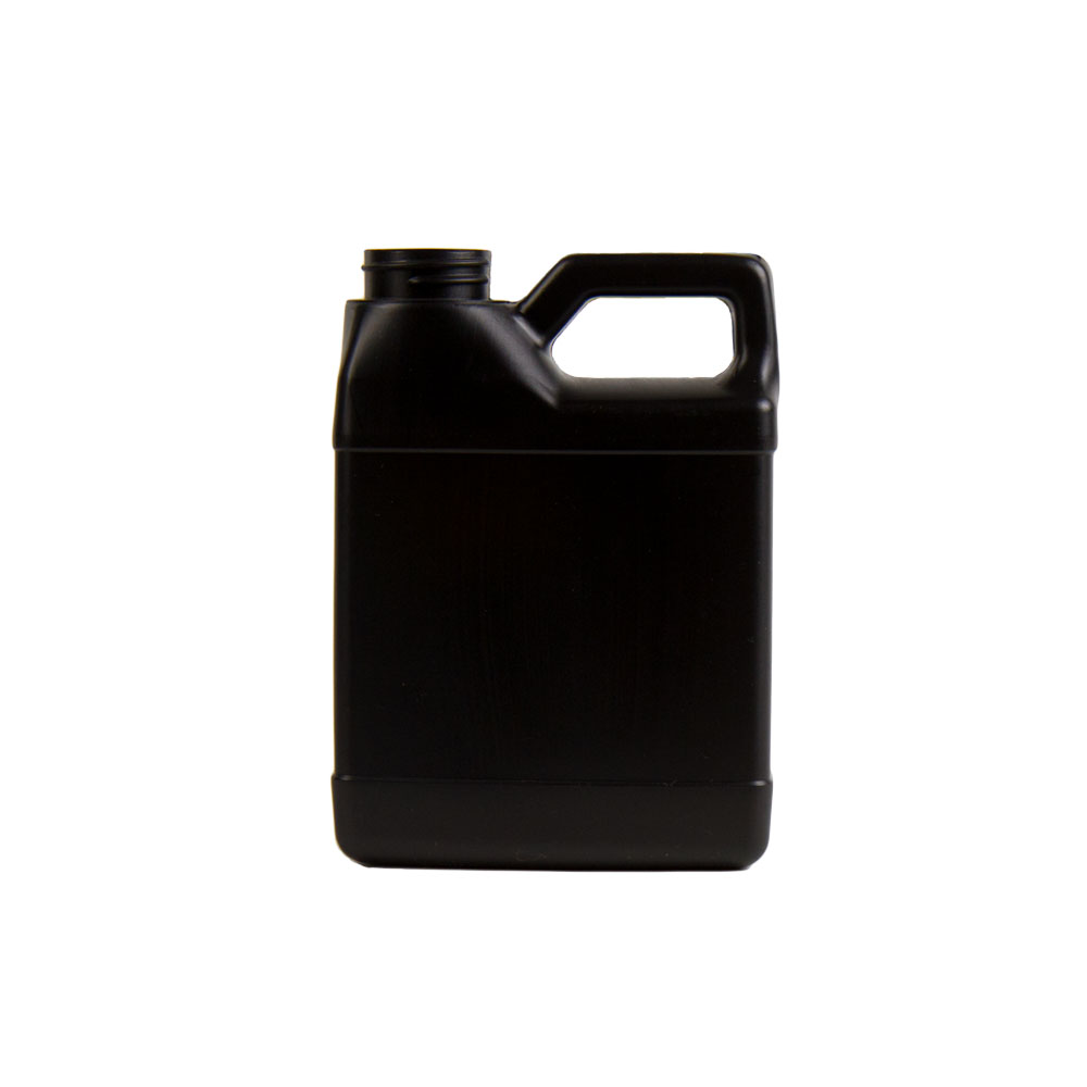 32 oz. Black HDPE F-Style Jug with 33/400 Neck  (Cap Sold Separately)