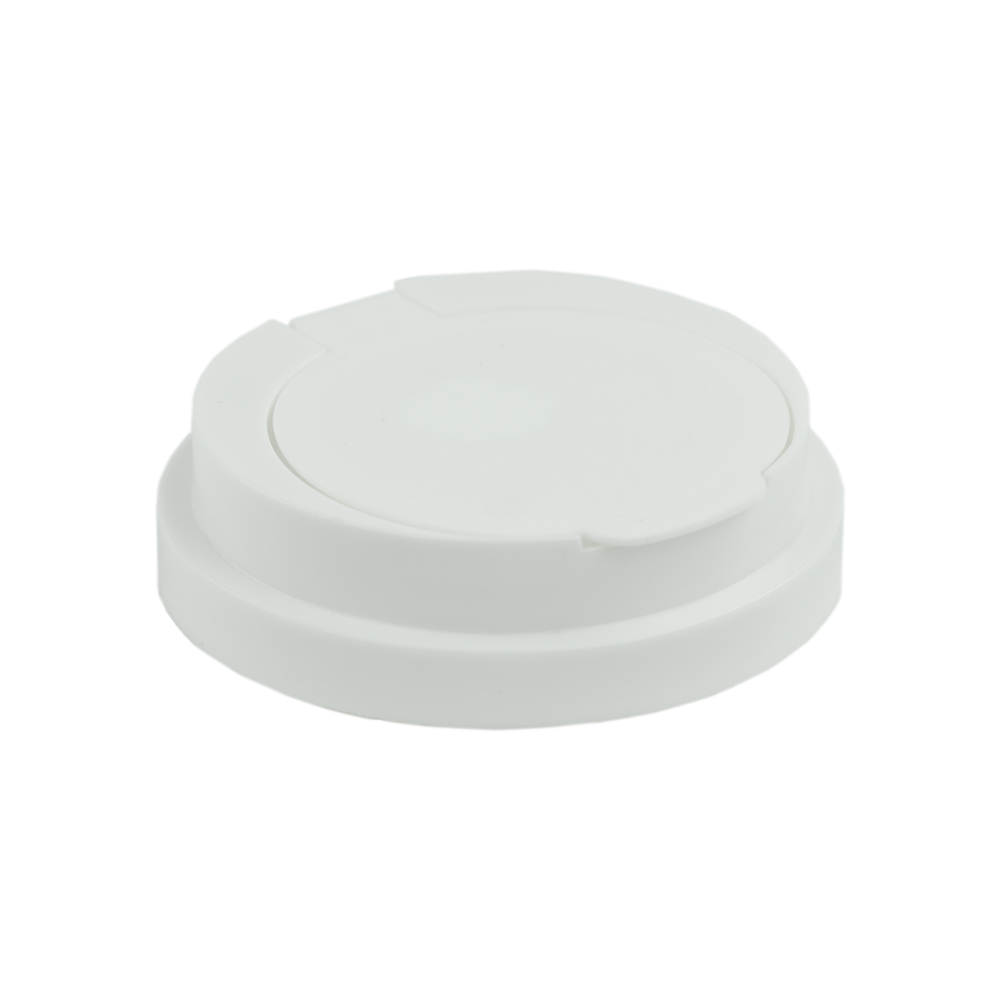 83mm Snap Top Cap for Towel Wipe Canister- White