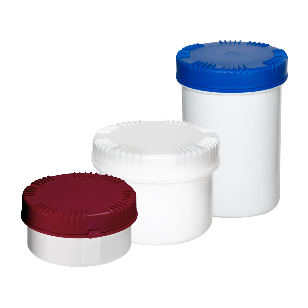 UN Rated Packo Jars with Lids