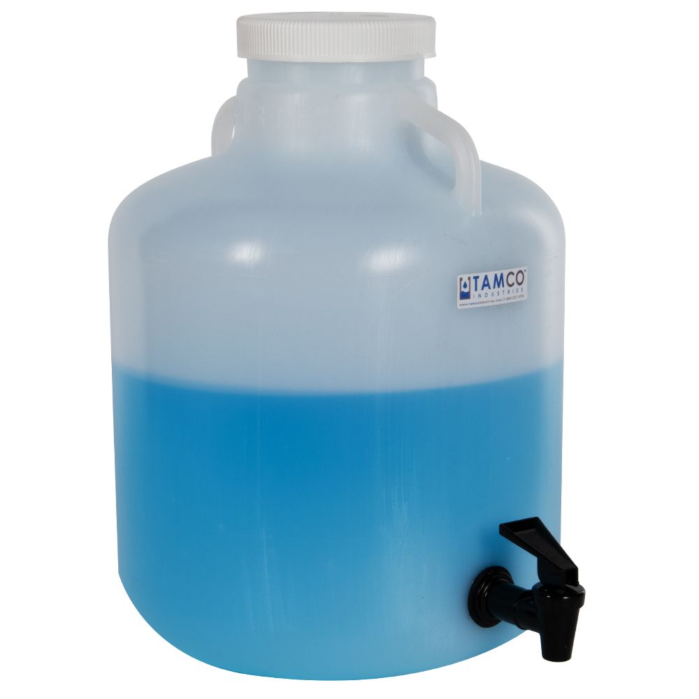 Thermo Scientific™ Nalgene™ LPDE Wide Mouth Carboys with Handles
