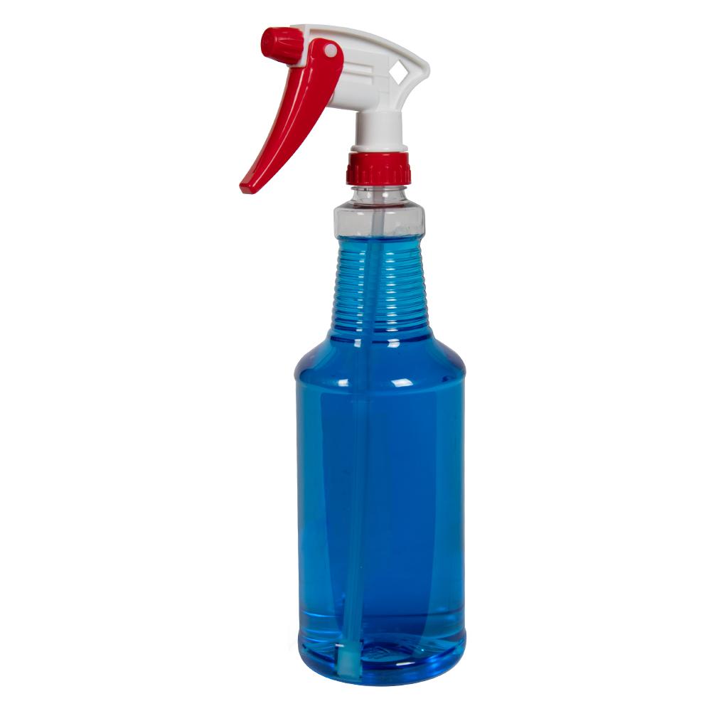 Clear PET Spray Bottles