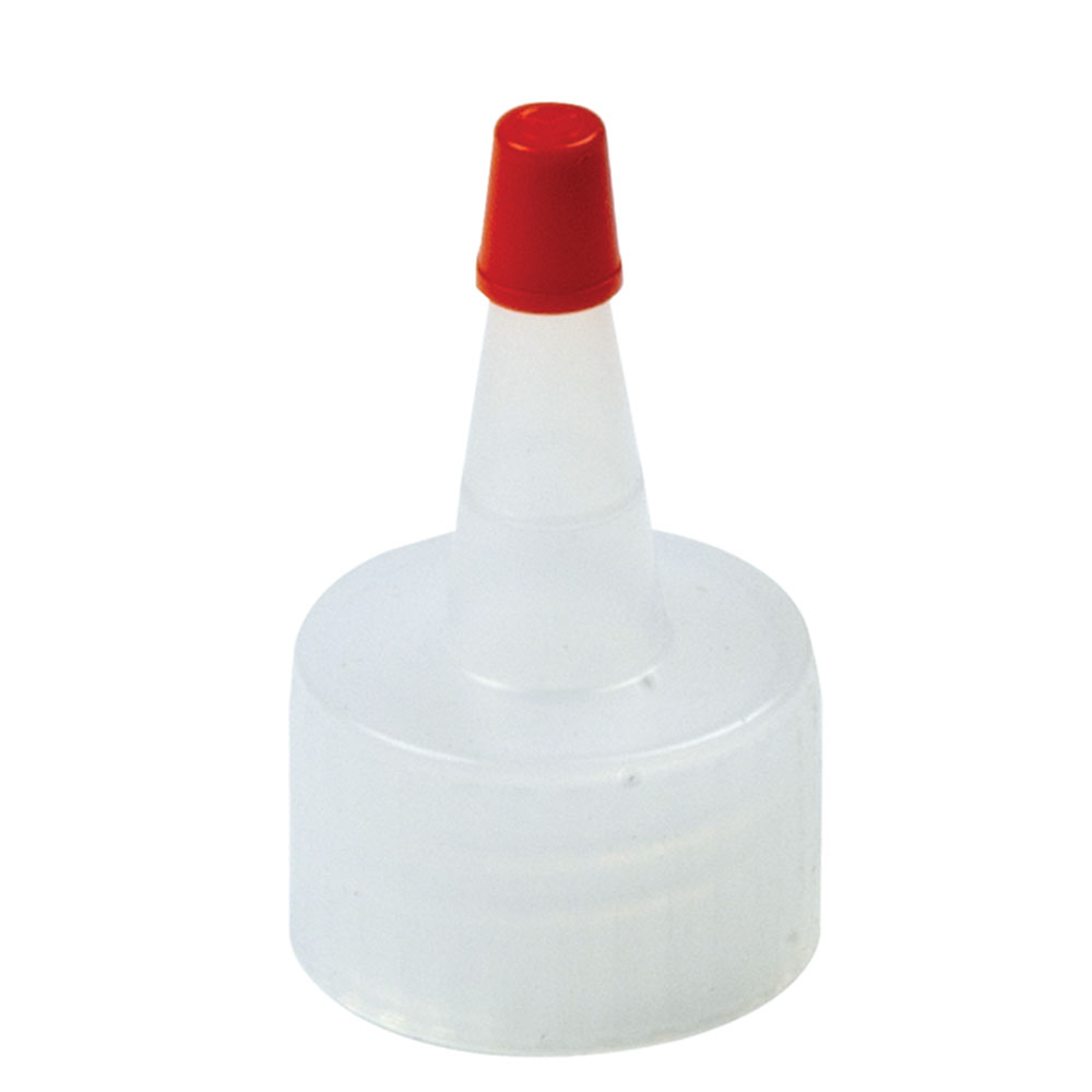 38/400 Natural Yorker Spout Cap with Regular Red Tip