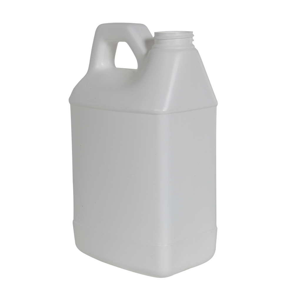 64 oz. White F-Style Jug with 38/400 Neck (Cap Sold Separately)