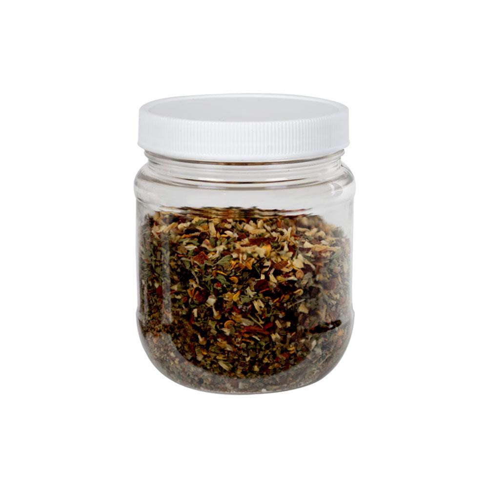 12 oz. Clear PET Jar with 70/400 Cap