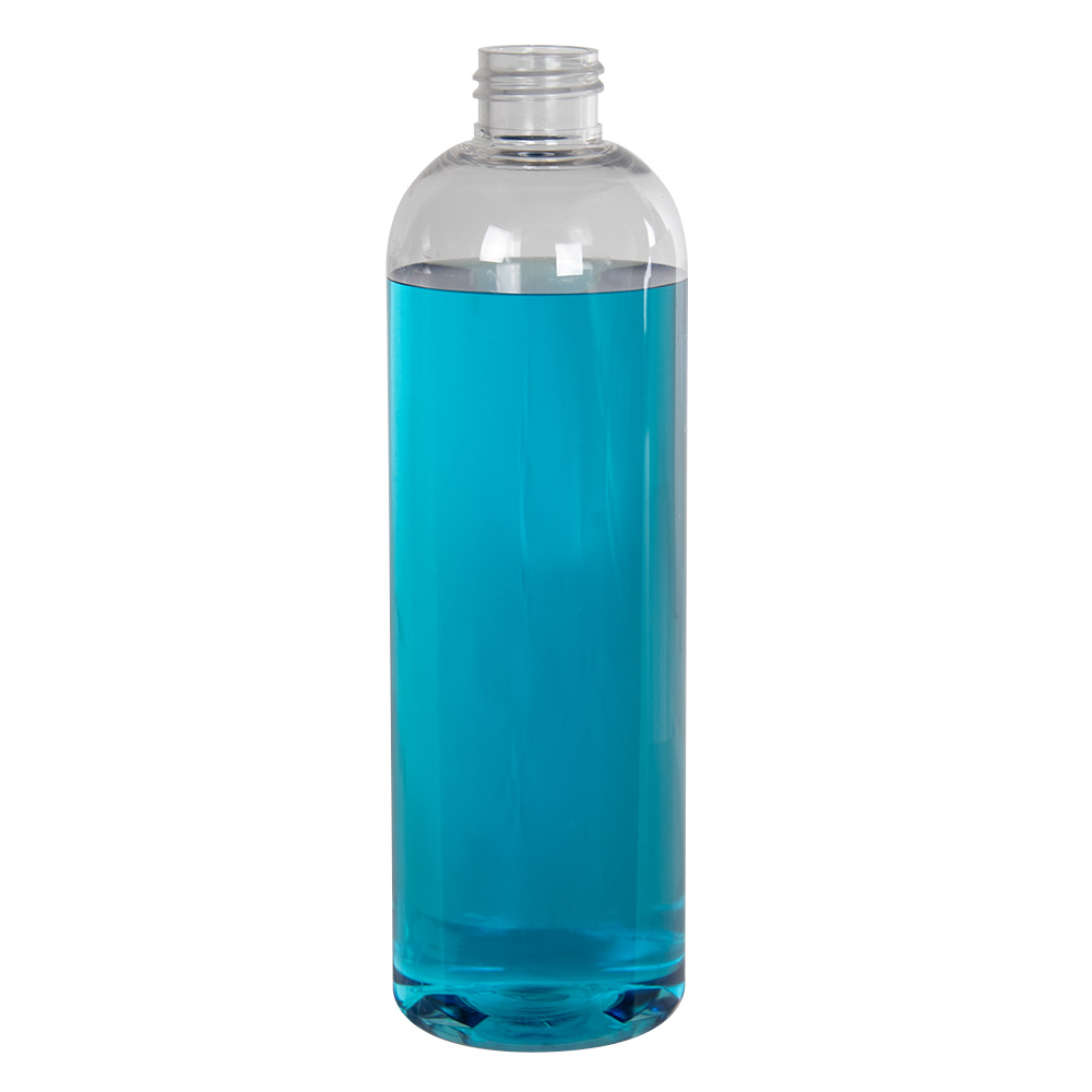 12 oz. Cosmo High Clarity Round Bottle with 24/410 Neck (Cap Sold Separately)