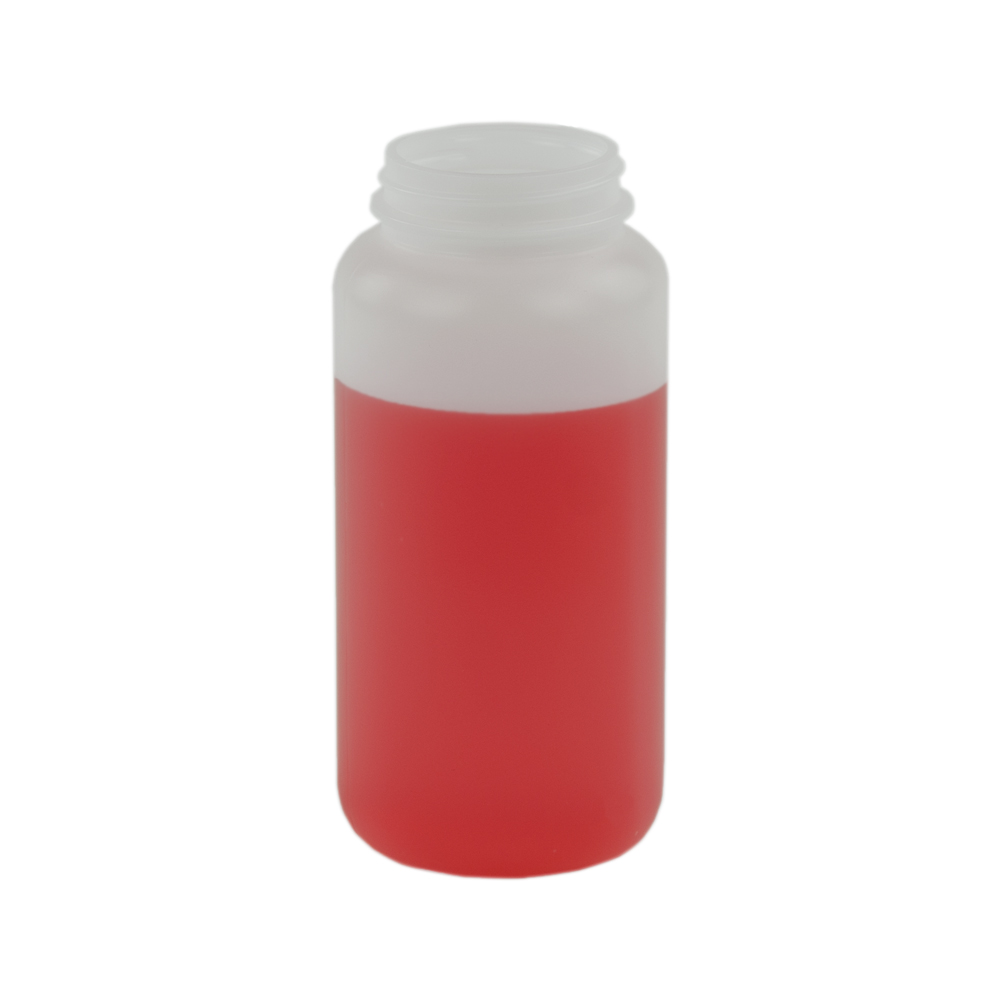 16.6 oz. Wide Mouth Round HDPE Jar 53/400 Neck  (Cap Sold Separately)