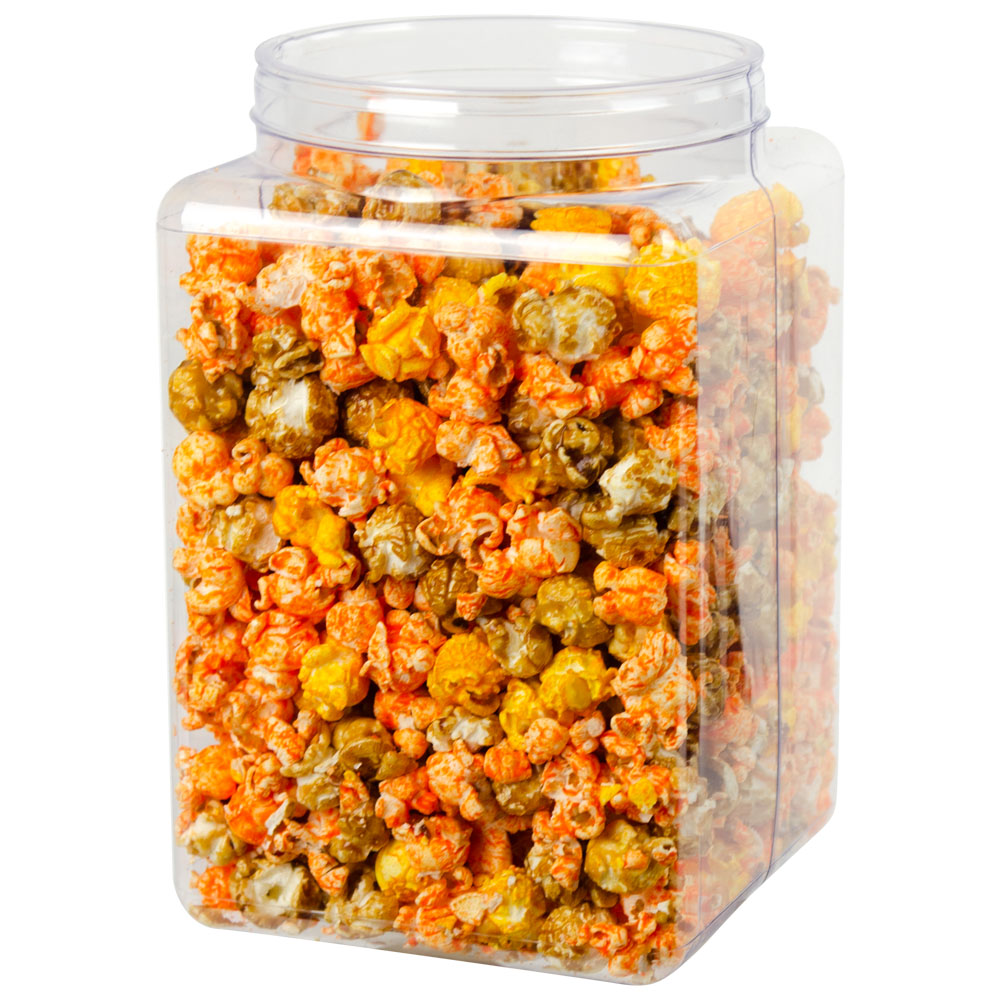 PVC Clear Canister & Lid