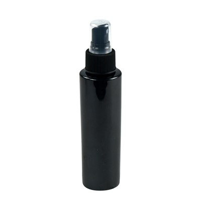 Black Cylindrical Sample Bottles
