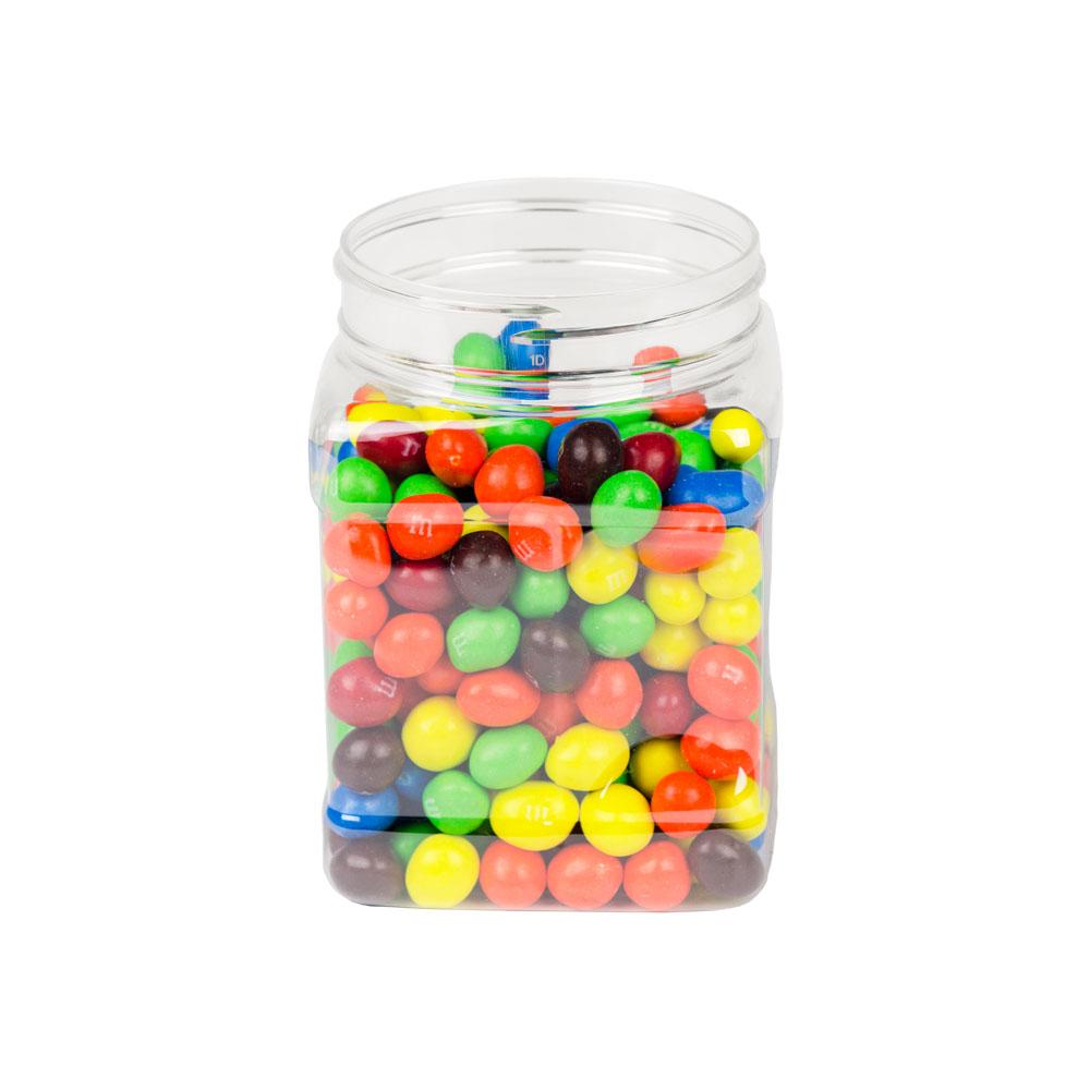 32 oz. PET Pinch Grip Jar with 89mm Neck (Cap Sold Separately)