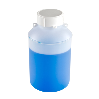 HDPE Lab Bottle w/Secure Seal