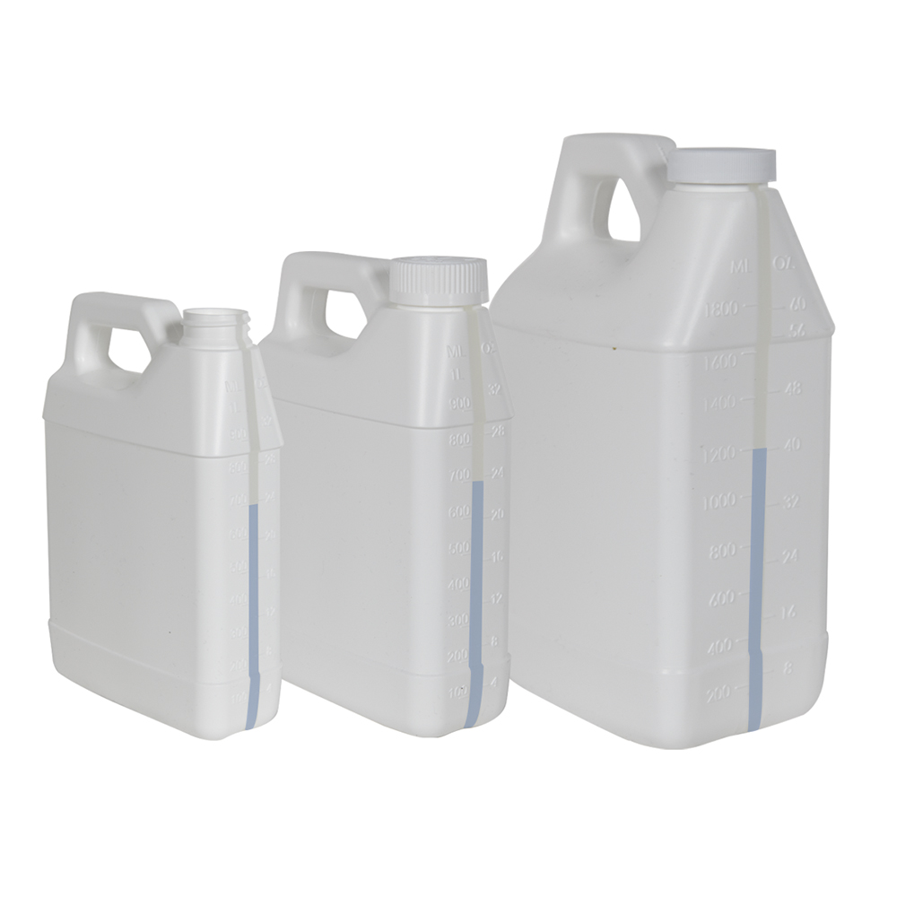 F-Style Jugs with Window Strips
