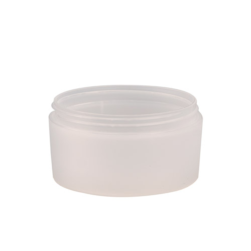 4 oz. Natural Frosted Double Wall Jar with 89mm Neck (Cap Sold Separately)