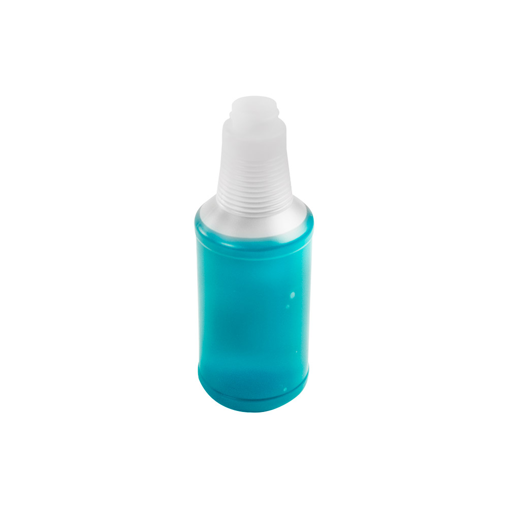 16 oz. Natural HDPE Decanter Spray Bottle with 28/400 Neck (Sprayers or Caps Sold Separately)