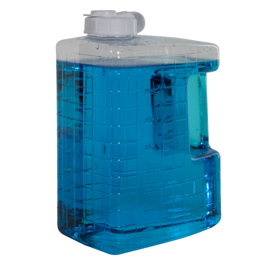 1 Gallon Clear View Refrigerator Bottle