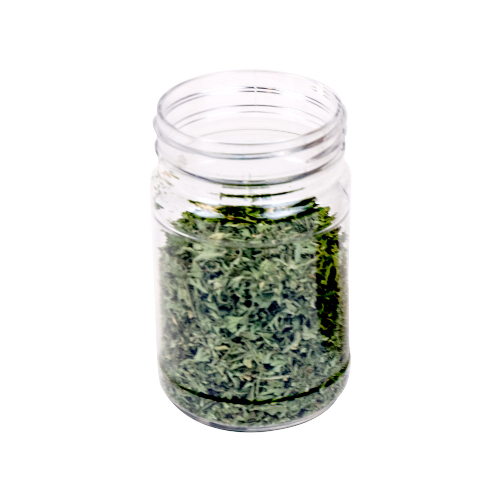 6 oz. Clear PET Jar with 53/400 Neck (Caps Sold Separately)