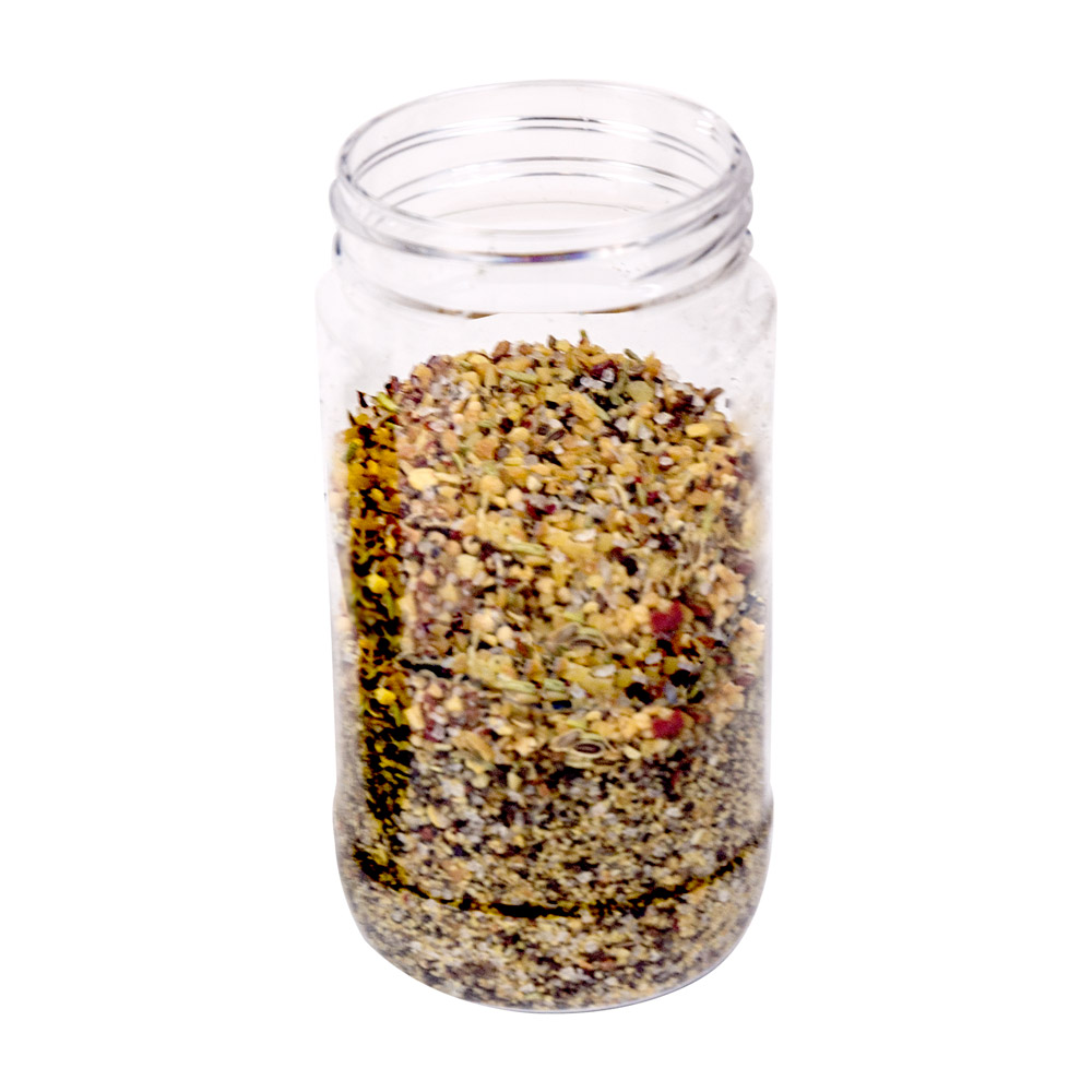 8 oz. Clear PET Jar with 53/400 Neck (Caps Sold Separately)