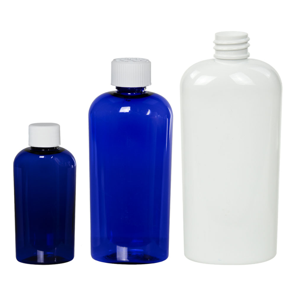 Cosmo Colored Oval Bottles