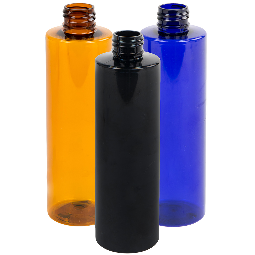 Colored PET Cylinder Bottles