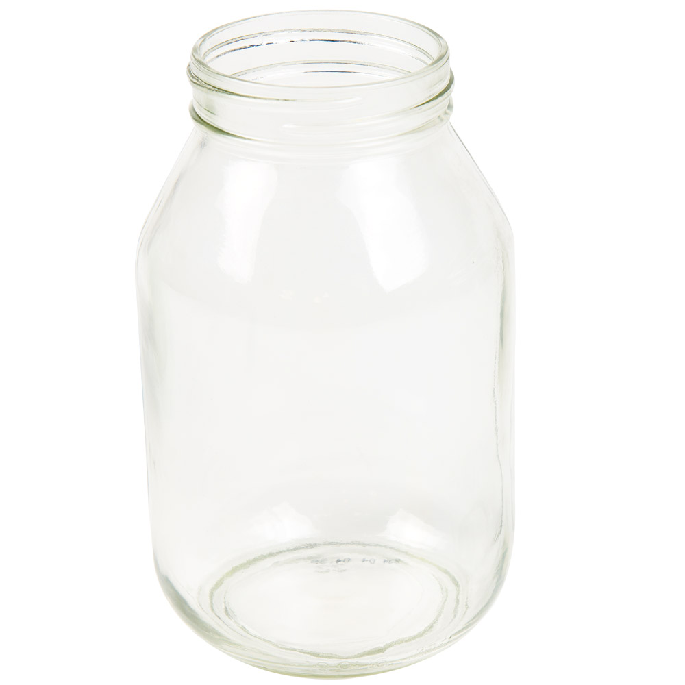 32 oz. Glass Mayo Round Jar with 70G-450 Neck  (Cap Sold Separately)