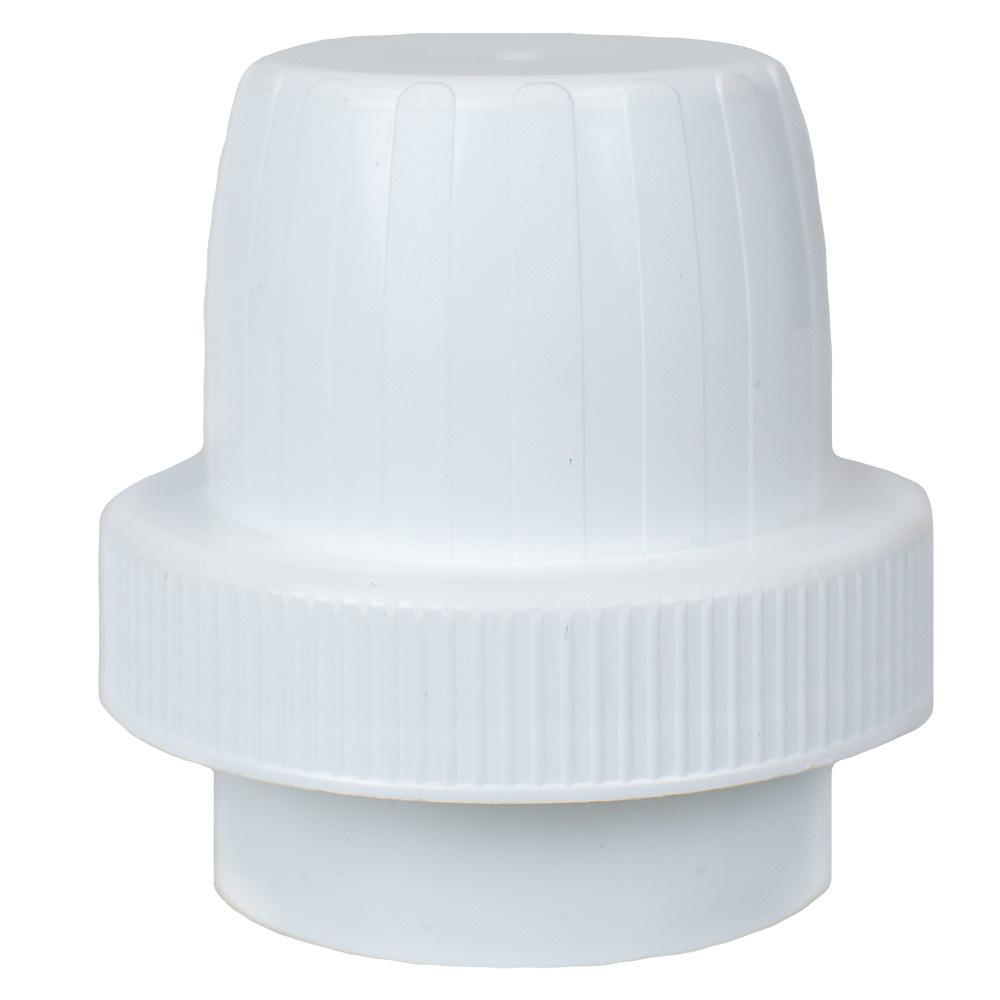 63mm Polypropylene White Detergent Cap