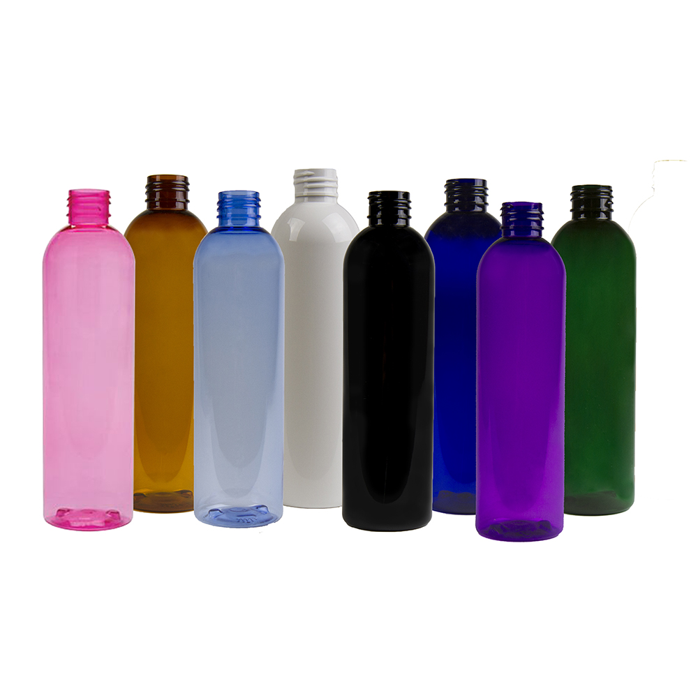 PET Color Cosmo Round Bottles